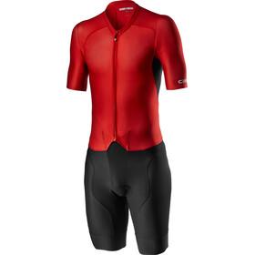 Castelli Sanremo 4.1 Speed Suit Men, zwart/rood